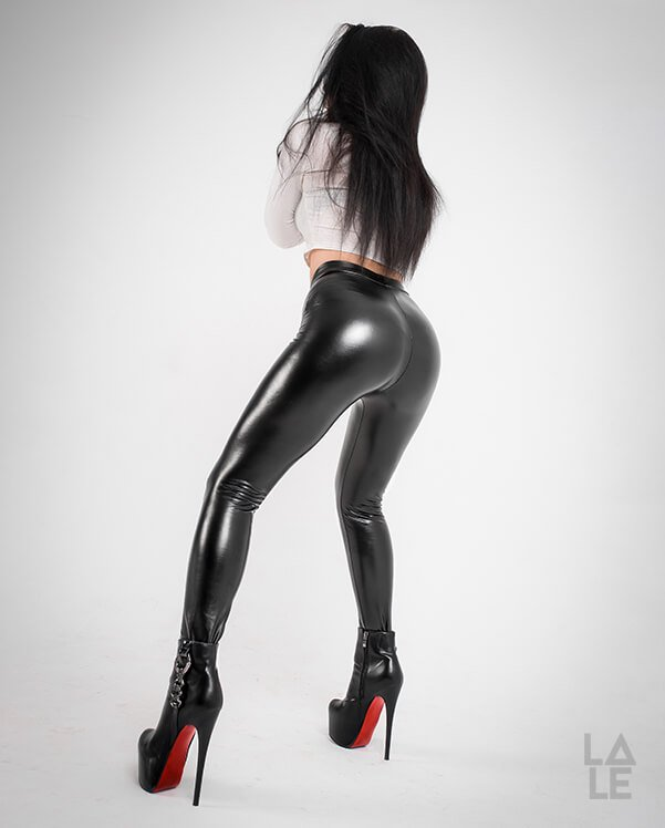 incognito leather leggings