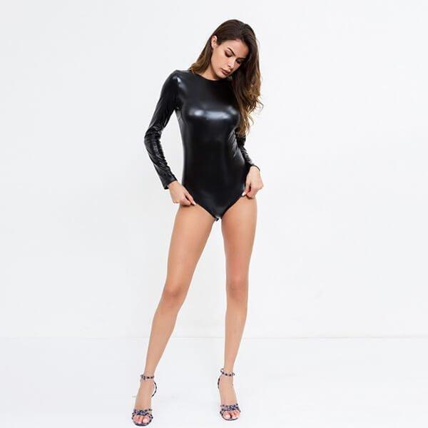 crazy night bodysuit lycra wetlook