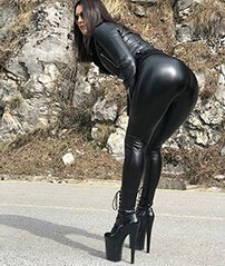 leather leggings premium sale