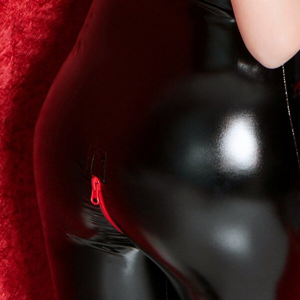 Let´s be kinky PVC Catsuit