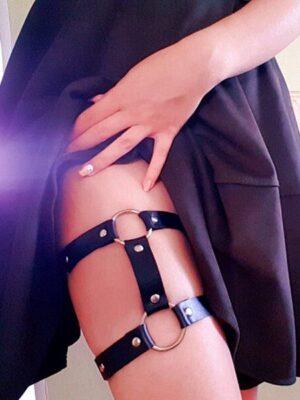 Rough babe Harness Thigh Garter